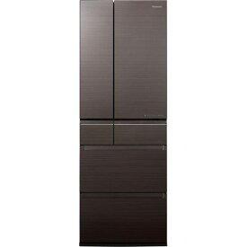 パナソニック NR-F505HPX-T 6ドア冷蔵庫(500L・フレンチドア) アルベロダークブラウン