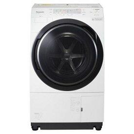 【無料長期保証】パナソニック NA-VX300AL-W ドラム式洗濯乾燥機 (洗濯10.0kg /乾燥6.0kg・左開き) クリスタルホワイト