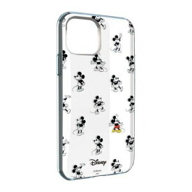 グルマンディーズ DN-652A ディズニーキャラクター IIII fit Clear iPhone 11 Pro 対応ケース ミッキーマウス