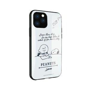 グルマンディーズ SNG-449B ピーナッツ IIII fit iPhone 11 Pro 対応ケース レター