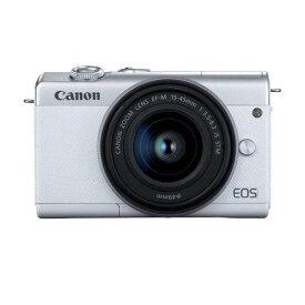 キヤノン EOSM200 L1545KWH ミラーレスカメラ 15-45レンズキット EOS M200 白