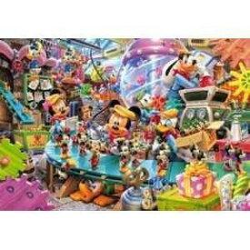 テンヨー ディズニー1000ピース ミッキーのトイファクトリー(ピュアホワイト)