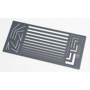 ハセガワ トライツール カッティングテンプレートA 直線平行幅用定規 TP5 工具