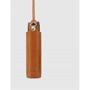 Dignis(ディグニス) FUMUS(フムス) アイコス3マルチ専用 高級レザーケース ライトブラウン 約11cm x 3cm x 1.5cm ライトブラウン