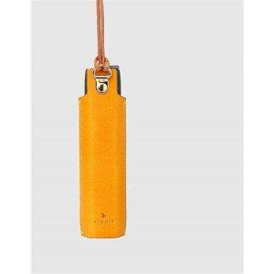 Dignis(ディグニス) FUMUS(フムス) アイコス3マルチ専用 高級レザーケース イエロー 約11cm x 3cm x 1.5cm イエロー