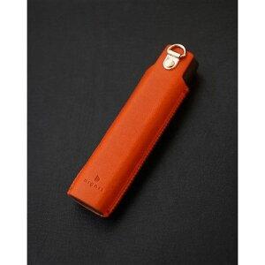 Dignis(ディグニス) FUMUS(フムス) アイコス3マルチ専用 高級レザーケース オレンジ 約11cm x 3cm x 1.5cm オレンジ