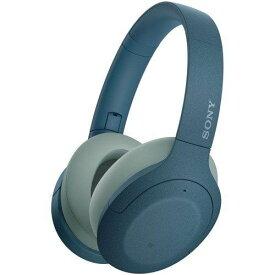 ヘッドホン ソニー WH-H910N LM ワイヤレスノイズキャンセリング ブルー