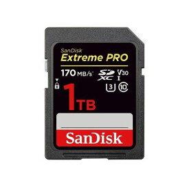 サンディスク エクストリーム プロ SDXC UHS-I 1TB SDSDXXY-1T00-JNJIP
