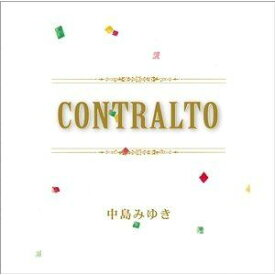 【CD】 中島みゆき / CONTRALTO