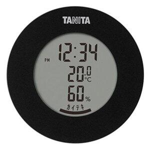 タニタ TT-585 デジタル温湿度計 ブラック