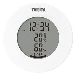 タニタ TT-585 デジタル温湿度計 ホワイト