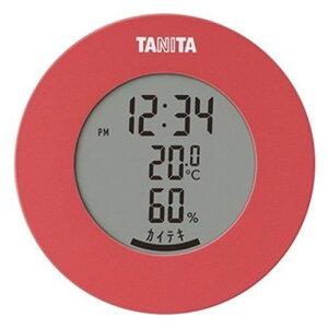 タニタ TT-585 デジタル温湿度計 ピンク