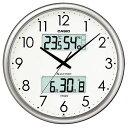 【ポイント10倍!4月1日(水)00:00〜23:59まで】カシオ ITM-650J-8JF 電波時計(壁掛け時計) 生活環境お知らせ(湿度計 …