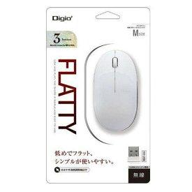 ナカバヤシ MUS-RKT153W マウス Digio2 ホワイト BlueLED 3ボタン USB 無線
