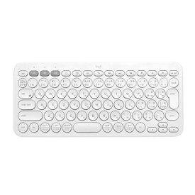 キーボード ロジクール Bluetooth 無線 ワイヤレス K380OW マルチデバイス Bluetooth キーボード オフホワイト