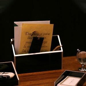 ≪男性への誕生日プレゼント・目上の方への贈り物にも≫【宮内庁御用達 漆器 山田平安堂】レタースタンド 縁錫蒔絵