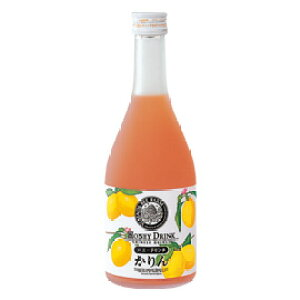 【山田養蜂場】かりんハニードリンク 500ml入 ギフト プレゼント 食品 健康 人気 健康 お取り寄せグルメ 高級 ジュース 蜂蜜 かりん はちみつ