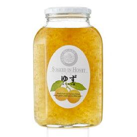 【山田養蜂場】ゆずはちみつ漬 900g入 ギフト プレゼント 食べ物 食品 はちみつ 健康 人気