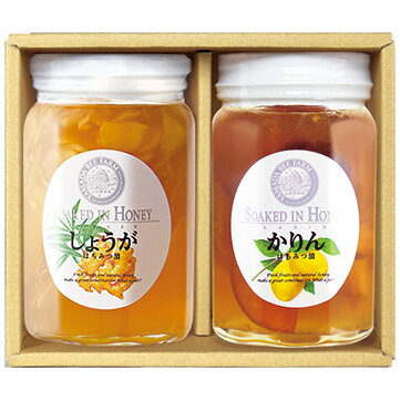 【山田養蜂場】冬の健やか果実漬セット 1セット(各450g) ギフト プレゼント 食べ物 食品 はちみつ 健康 人気