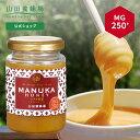 【山田養蜂場】 マヌカ蜂蜜 MG250+ ( クリームタイプ ) 200g はちみつ ハチミツ マヌカハニー 食べ物 食品 健康 抗菌 …