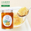 【山田養蜂場】 しょうがはちみつ漬 450g はちみつ 百花蜂蜜 生姜 ショウガ 国産 食べ物 食品 飲み物 ドリンク ジュー…