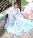 唐装漢服 中国宮廷古代衣装 花柄 華流コスプレ 舞台ステージ衣装 ダンス衣装 チャイナドレス 写真撮影 演出服 古典美…