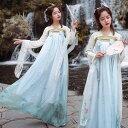 中国伝統古典漢服唐装 中華コスプレ衣装 イベント演出衣装 日常もOK 二次元宮廷唐時代衣装 中華風チャイナドレス…
