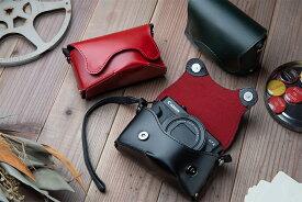 レザーカメラケース オルフェ02 キヤノン PowerShot G7X MARK III/G7X MARK II 専用