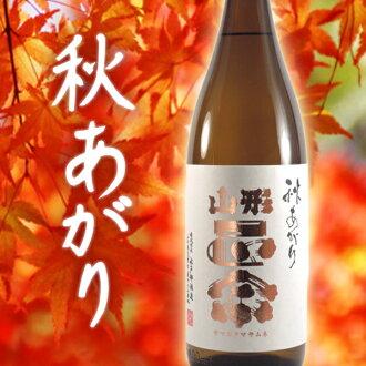 Yamagata Masamune junmai ginjo sake fall after 1800 ml
