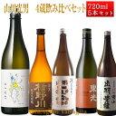 山川光男 2019 あき と 日本酒 4蔵 飲み比べセット 720ml×5本 ハロウィン プレゼント 2019