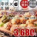 米粉ミニパン◆選べる8種類◆ こめらぼキッチン グルテンフリー 米粉100% アレルギー対策 小麦 牛乳 たまご不使用