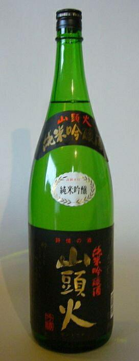 【山口県】【山口市嘉川】【金光酒造】【山頭火】純米吟醸酒1800ml(10000949)
