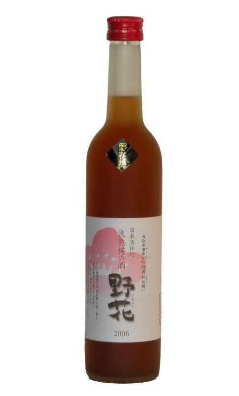 【鳥取県】【東伯郡北栄町】【梅津酒造】良熟 梅の酒 野花500ml
