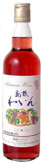Shimane winery (sweet 12% red) 550 ml (10002195)