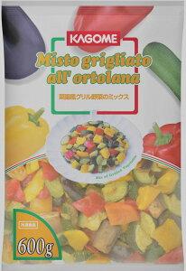 【冷凍】【地中海野菜】菜園風グリル野菜のミックス 600g【国内製造】【カゴメ】