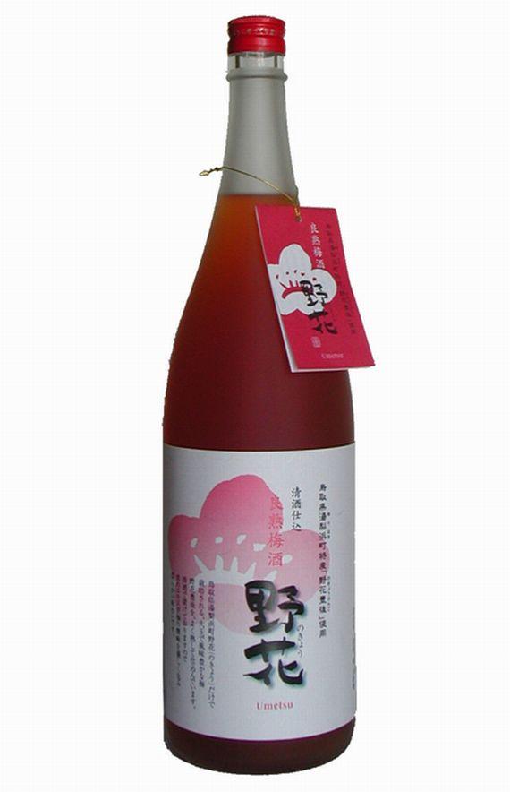 【鳥取県】【東伯郡北栄町】【梅津酒造】良熟 梅の酒 野花1800ml