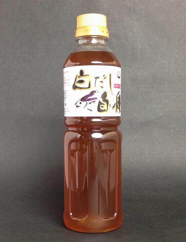【山口県】【周南市】 【吉田屋醤油】アサヒワシ醤油・白だし自慢500mL