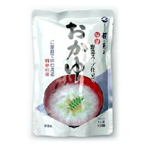 メール便【送料無料】『おかゆ(野菜スープ仕立て) 1人前x3袋』(萩・井上商店)