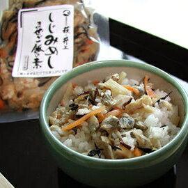 海の幸の混ぜご飯シリーズ『まぜご飯の素(しじみめし)』