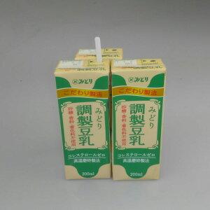 九州乳業『みどりおいしい調整豆乳』200mlx24本