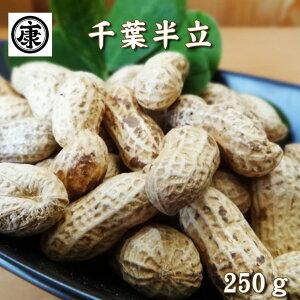 【特選】 新豆!令和元年産!これぞ本場の味 千葉県産落花生 千葉半立種 250g