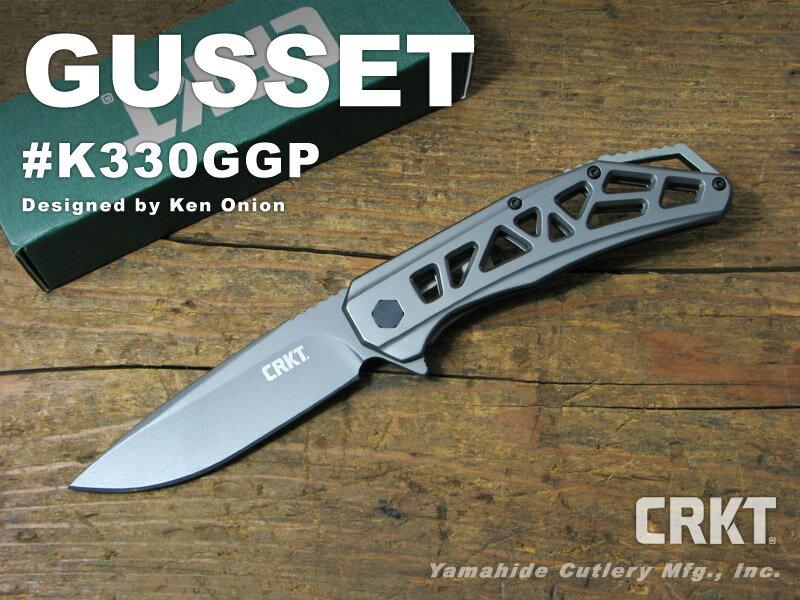 CRKT/コロンビアリバー #K330GGP GUSSET ガセット 折り畳みナイフ