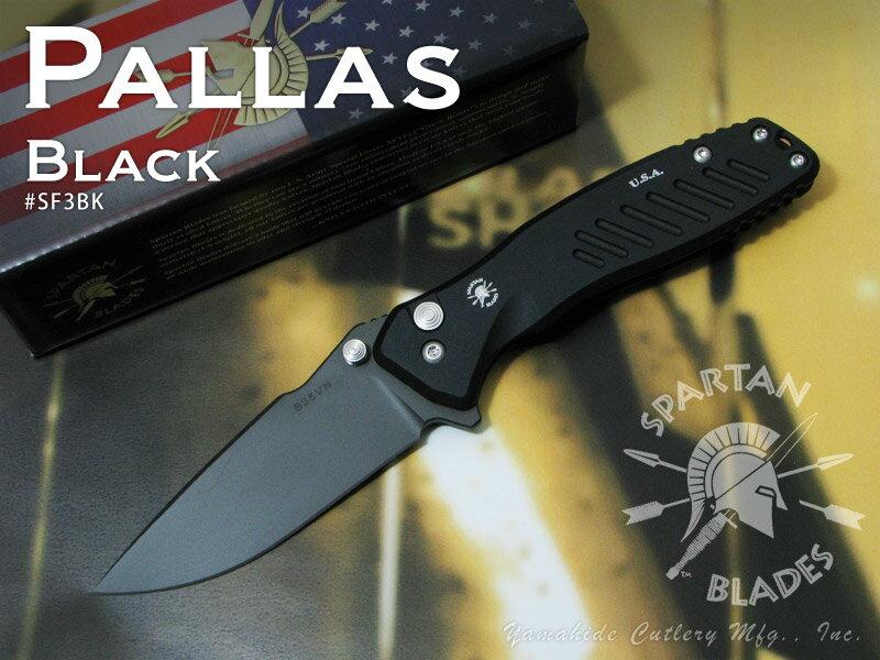 Spartan/スパルタン #SF3BK パラス 折り畳みナイフ