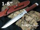 """Randall/ランドール #CH1240 モデル1-8"""" ステンレス シースナイフ"""