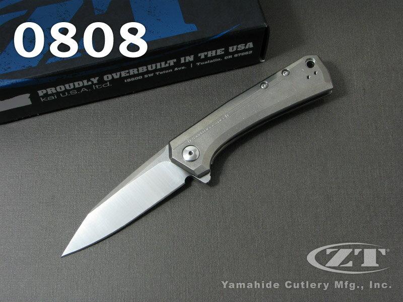 ZT/ゼロ・トラレンス ナイブズ #0808 フリッパー 折り畳みナイフ