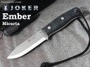 ジョーカー CM122-P エンバー マイカルタ ファイヤースターター付 ブッシュクラフトナイフ,Joker EMBER SCANDI BUSHCR…
