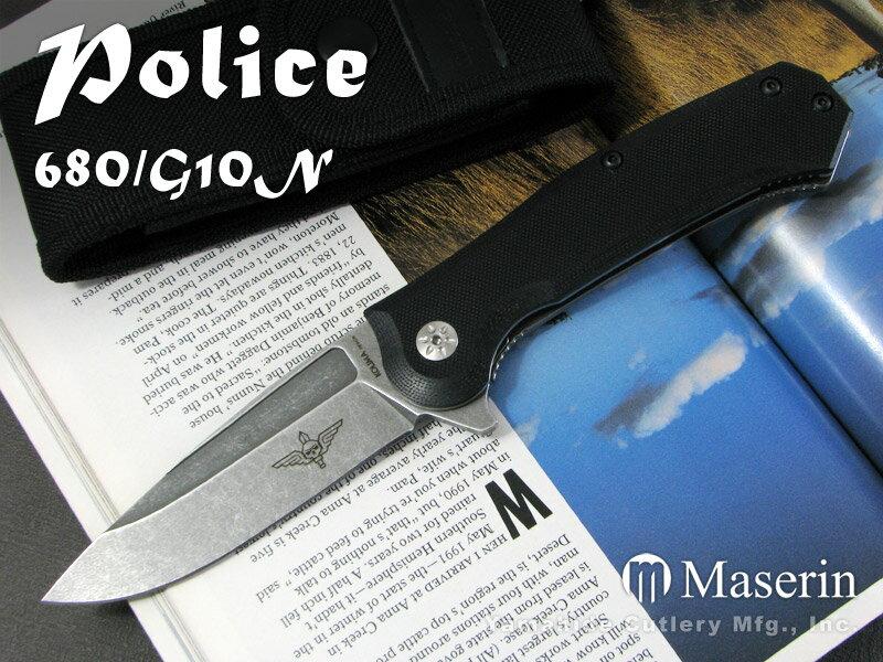 Maserin/マセリン #680/G10N Police ポリス /ブラックG10