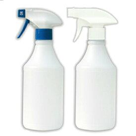スプレーボトル500ml(ガンボトル)トリガー(青/白・白/白 2カラー)アルコール対応 大容量 空ボトル 半透明ボトル 詰め替え容器 スプレー容器 スプレーボトル ガンスプレー アルコール 除菌剤・殺菌剤 ボディーケア ヘアケア 園芸用霧吹きなどに