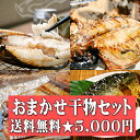★送料無料★おまかせ干物セット5000円コース〜干物の福袋!水揚げされた魚と弊社定番の商品で組み合わせるオススメのセットです!お歳暮…