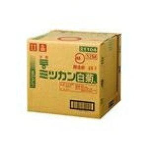 ミツカン 白菊酢(米酢) 20L 箱タイプ 蛇口付